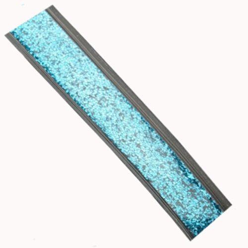 Blue Glitter Gel Straps-0