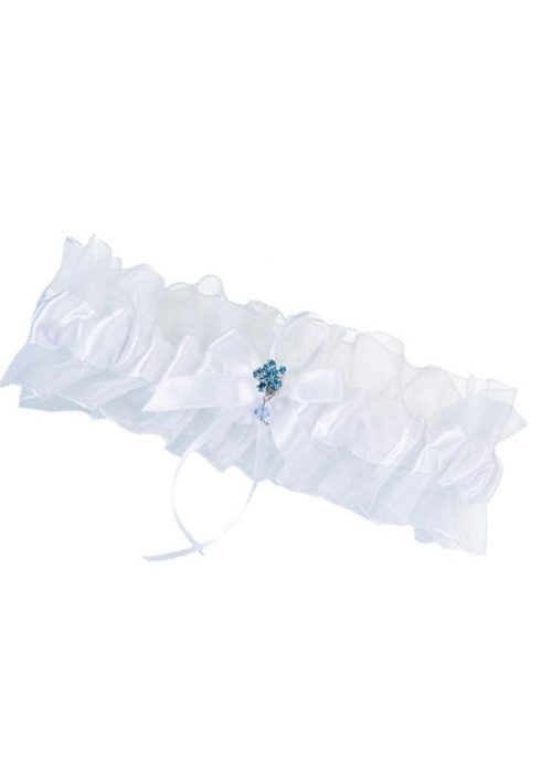 Something Blue Garter -0