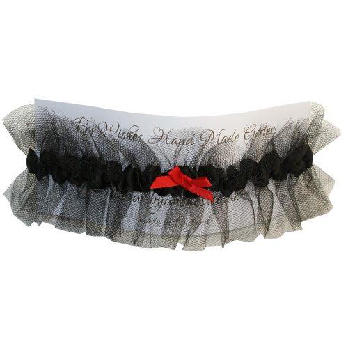 MALIFICENT- black garter
