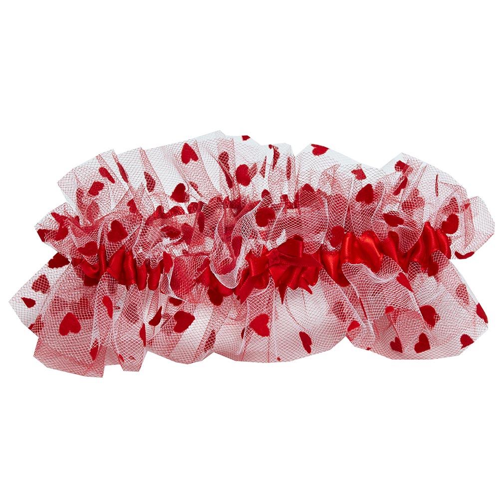 MELODY- red garter