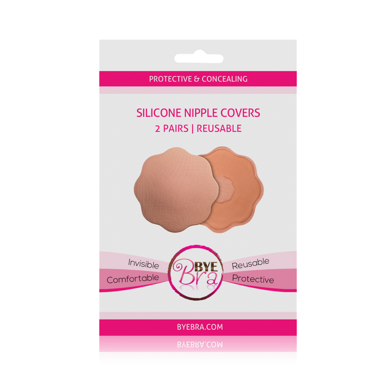 ad053321ea6fc Bye Bra Silicone Nipple Covers - Nude - By Wishes